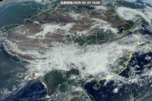 怪事我国东北突现飓风局地风大雨急剖析是涡来了